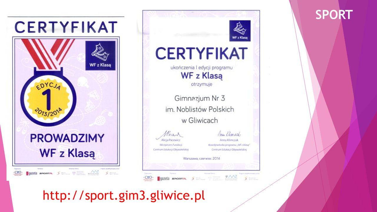 SPORT http://sport.gim3.gliwice.pl