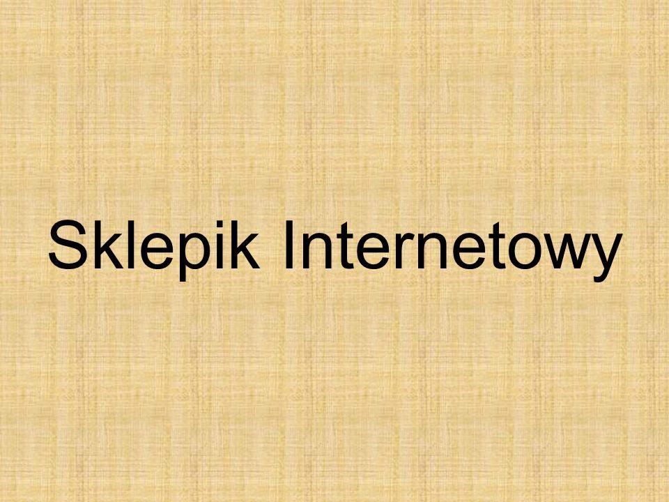 Sklepik Internetowy
