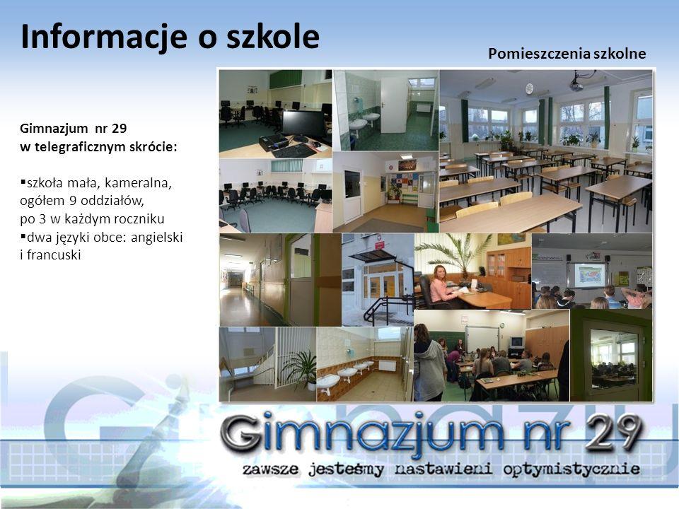 Informacje o szkole Gimnazjum nr 29 w telegraficznym skrócie:  Pedagog – jest wsparciem a kiedy trzeba powiernikiem.