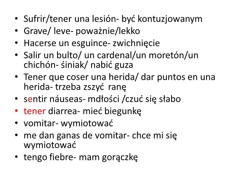 verbos Necesitar – potrzebować Usar- używać Tener que- musieć Np.