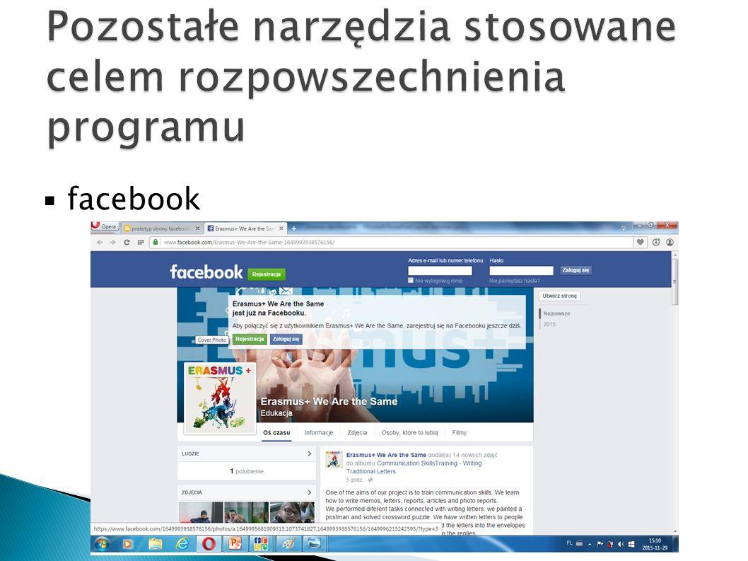 ▪ facebook