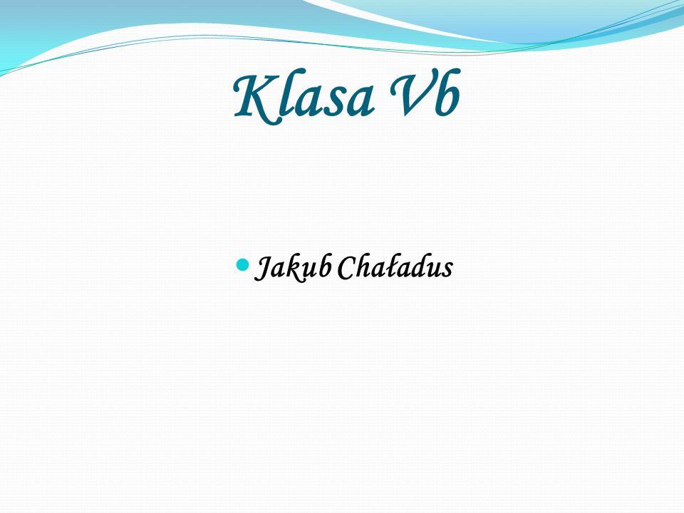 Klasa Vb Jakub Chaładus