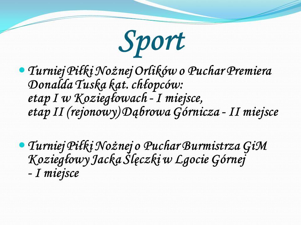 Sport Turniej Piłki Nożnej Orlików o Puchar Premiera Donalda Tuska kat.