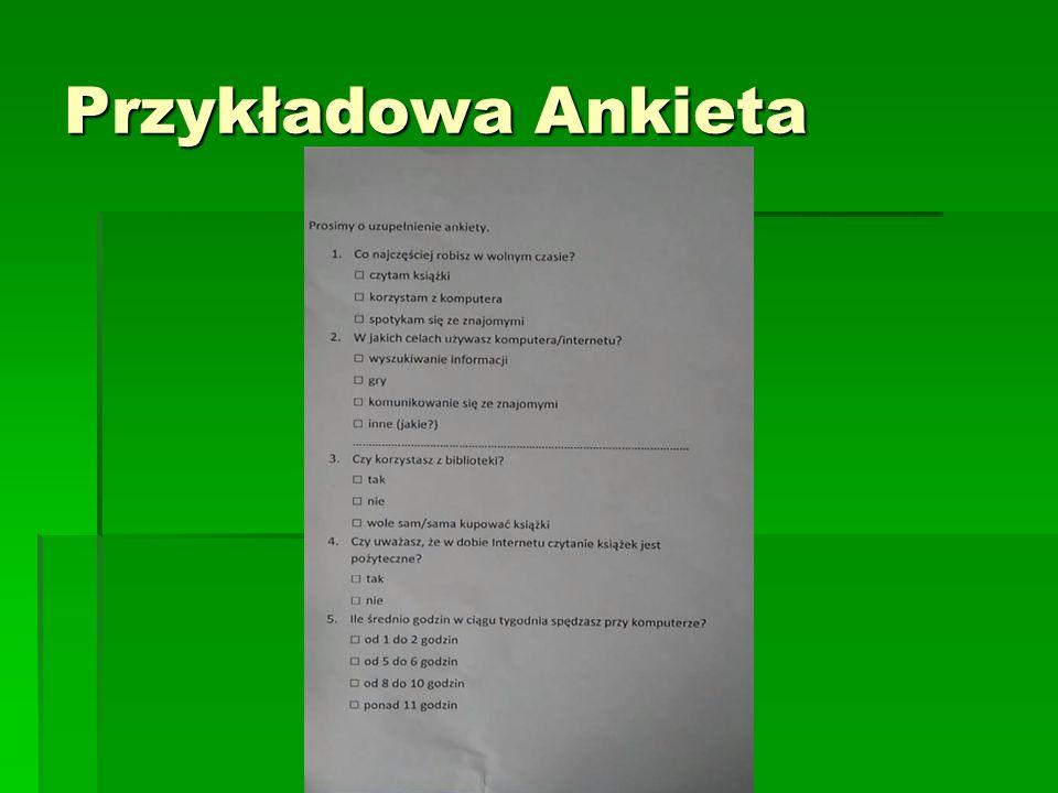Przykładowa Ankieta