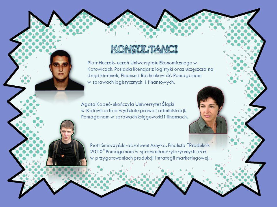 Piotr Huczek- uczeń Uniwersytetu Ekonomicznego w Kotowicach.