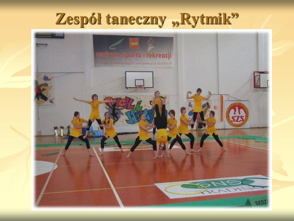 """Zespół taneczny """"Rytmik"""