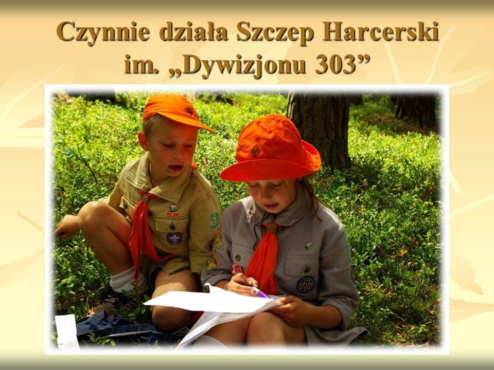 """Czynnie działa Szczep Harcerski im. """"Dywizjonu 303"""