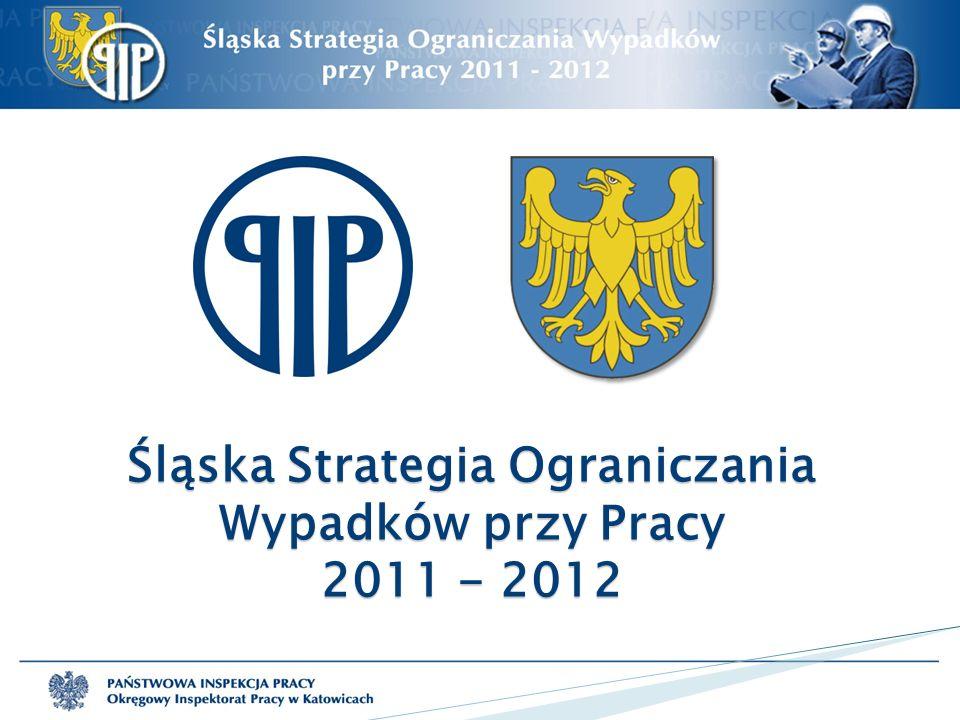 Śląska Strategia Ograniczania Wypadków przy Pracy 2011 - 2012