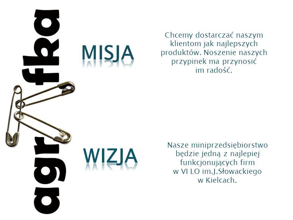 Nasze miniprzedsiębiorstwo będzie jedną z najlepiej funkcjonujących firm w VI LO im.J.Słowackiego w Kielcach. Chcemy dostarczać naszym klientom jak na
