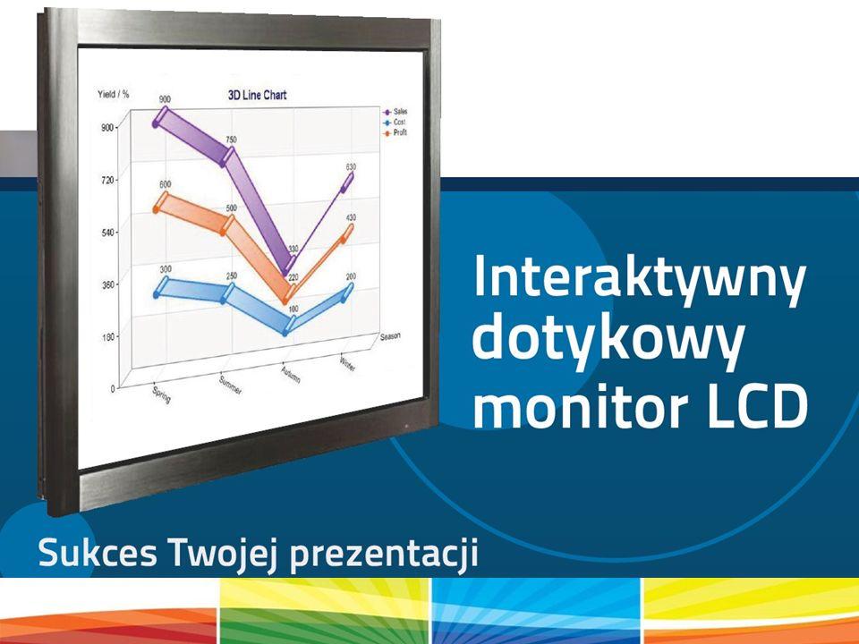 Prezentacja możliwości monitora dotykowego na przykładzie programu Prezi.