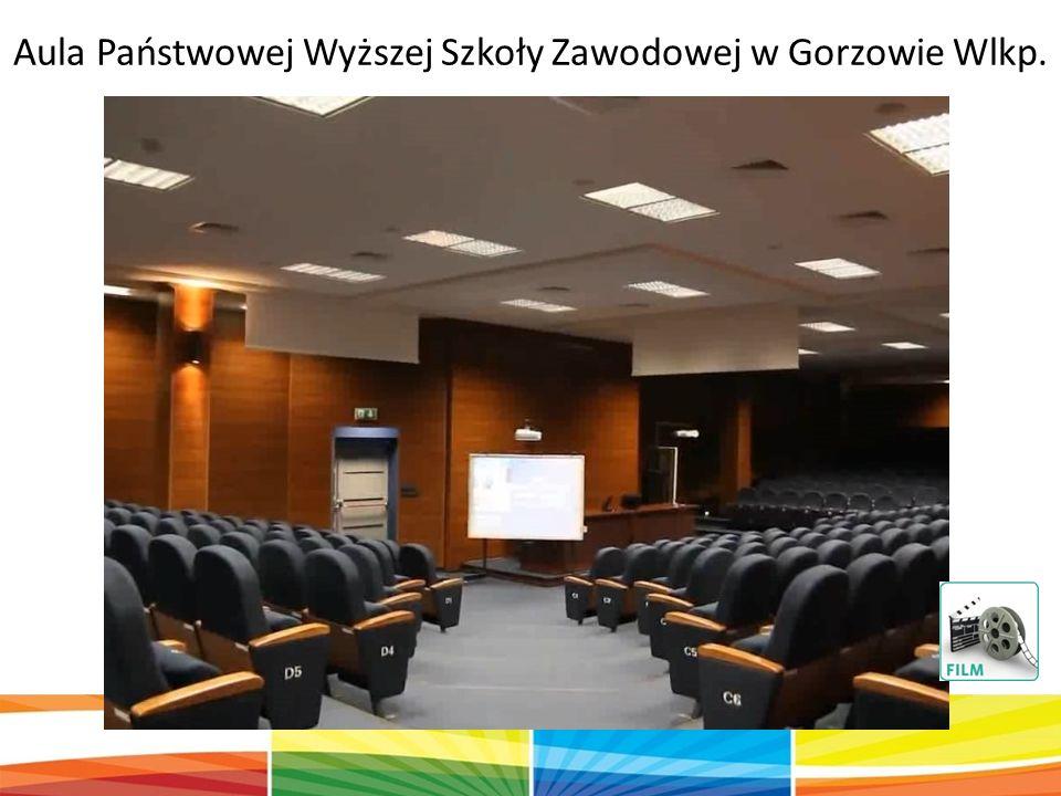 Aula Państwowej Wyższej Szkoły Zawodowej w Gorzowie Wlkp.