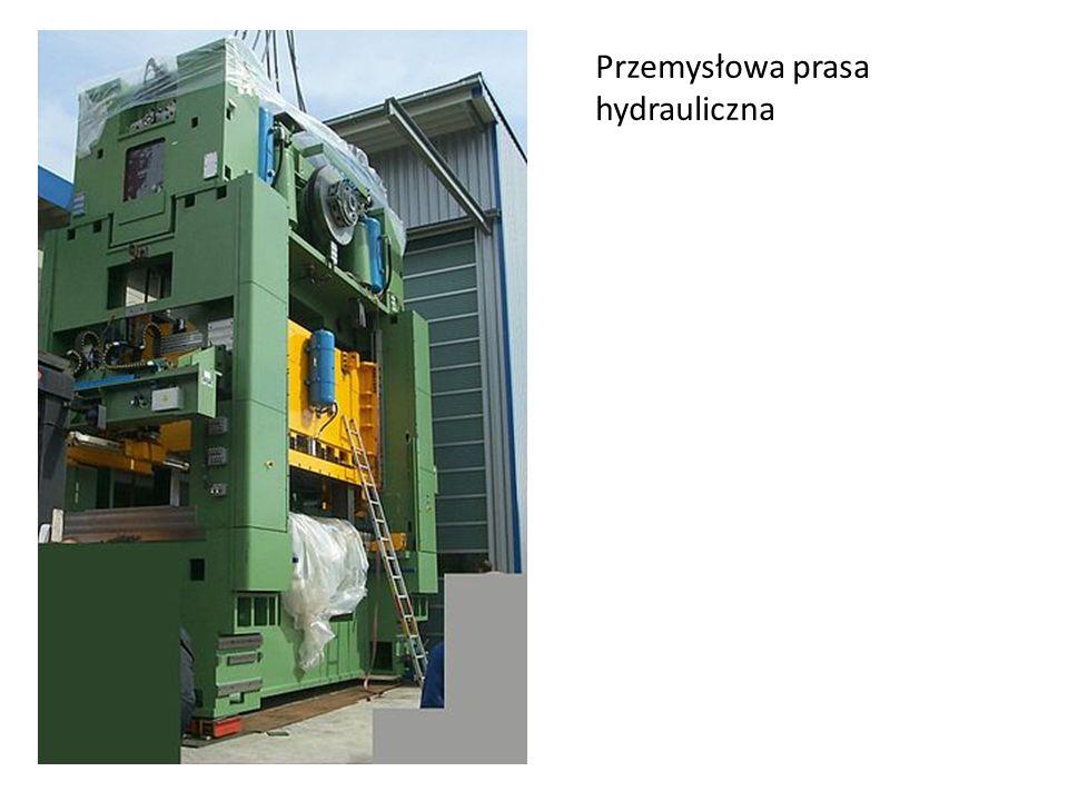 Przemysłowa prasa hydrauliczna