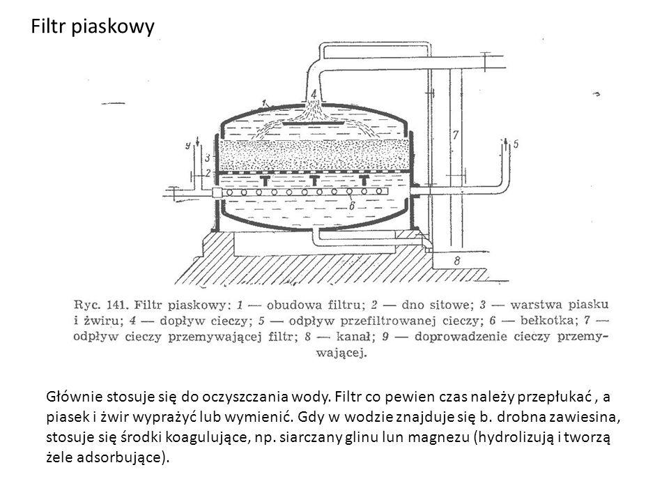 Cedzidła (nucze) Cedzidło otwarte.Podciśnienie (150-250 mmHg).