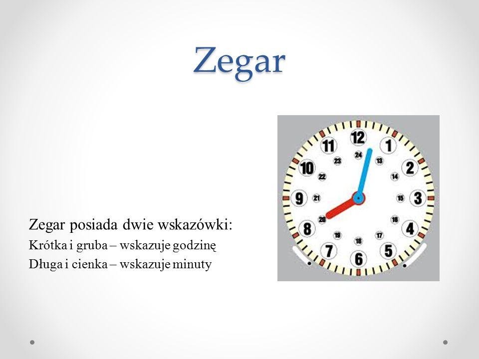 Każdy wie, że doba ma 24 godziny(to dzień i noc) Godzina to 60 minut i 3600 sekund Minuta ma 60 sekund.