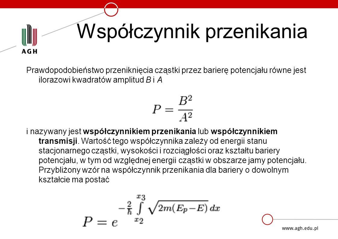 Efekt tunelowy można wyjaśnić również bez odwoływania się do pojęcia funkcji falowej tylko na podstawie zasady nieoznaczoności.
