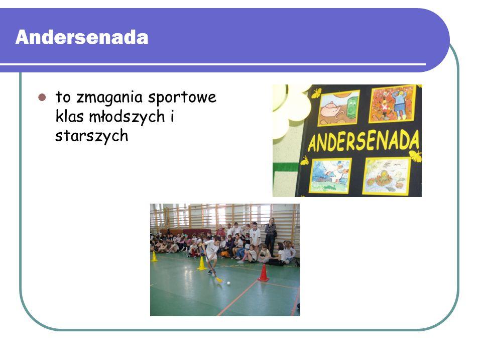 Andersenada to zmagania sportowe klas młodszych i starszych