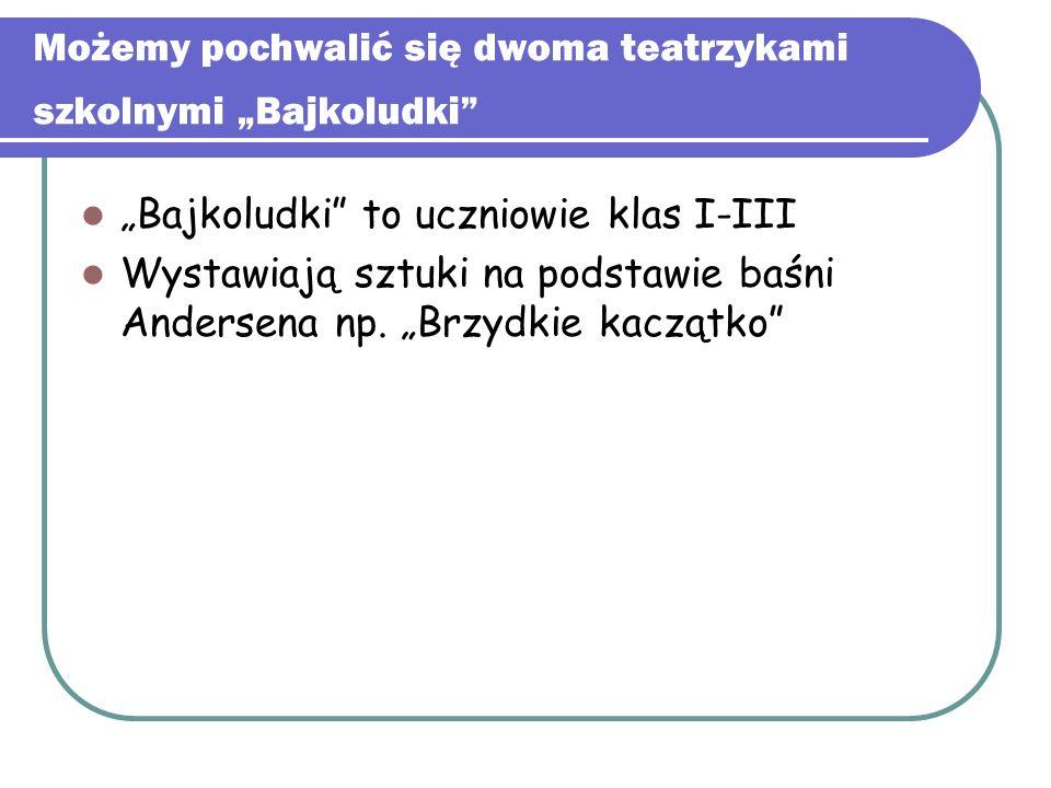 """Teatr """"Malutki W swoim repertuarze mają kilka sztuk na motywach baśni Andersena np. Słowik , Syrenka"""