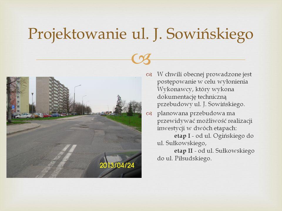  Projektowanie ul. J.