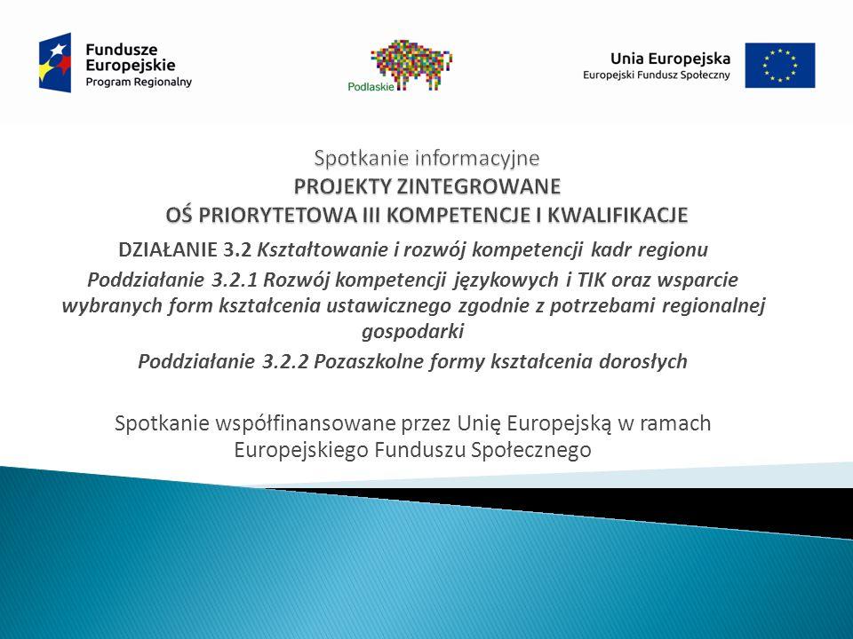 Informacja o projektach wybranych do dofinansowania zostanie zamieszczona na stronie internetowej WUP (http://wupbialystok.praca.gov.pl/) oraz przekazana do IZ RPOWP w celu umieszczenia na portalu, nie później niż 7 dni od dnia rozstrzygnięcia konkursu.http://wupbialystok.praca.gov.pl/ W przypadku, gdy w wyniku negatywnej oceny projektów wchodzących w skład projektu zintegrowanego nie będzie możliwe zawarcie umowy o dofinansowanie realizacji projektu lub wnioskodawca wycofa się z udziału w procedurze wyboru projektu zintegrowanego do dofinansowania, co nastąpi przed sporządzeniem listy, o której mowa w art.
