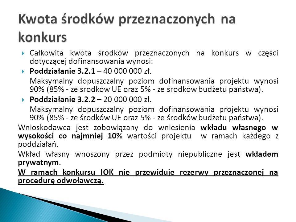 Wskaźnik produktu specyficzny dla projektu w ramach Poddziałania 3.2.1 oraz Poddziałania 3.2.2: Nazwa wskaźnikaJednostka miary Minimalna liczba osób Liczba osób objętych wsparciem, które zamieszkują obszary wiejskie Osoby min.