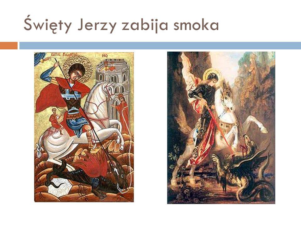 Święty Jerzy zabija smoka