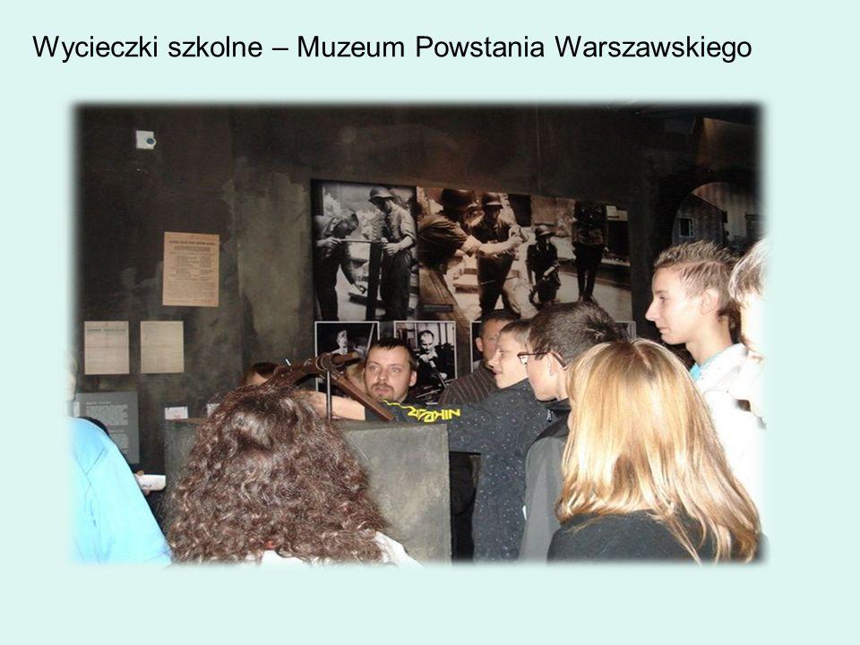 Wycieczki szkolne – Muzeum Powstania Warszawskiego
