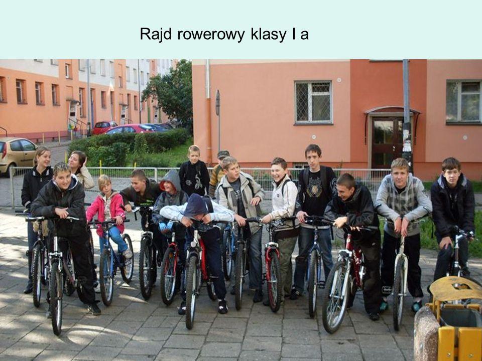 Rajd rowerowy klasy I a