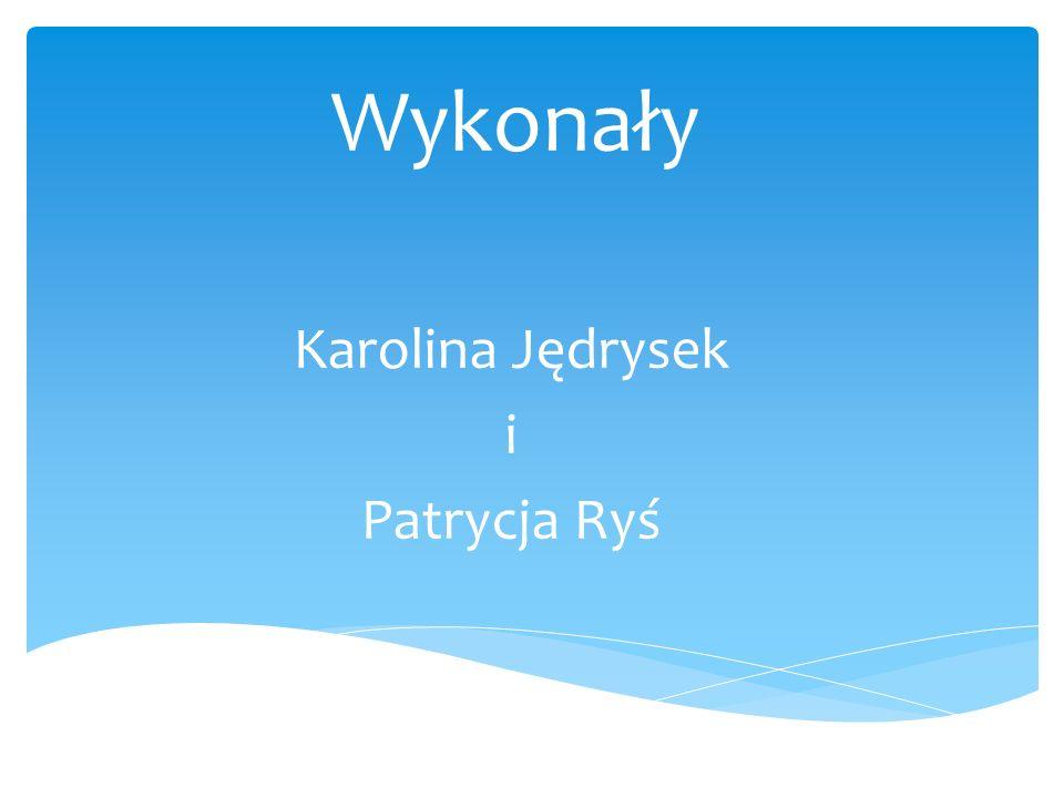 Wykonały Karolina Jędrysek i Patrycja Ryś