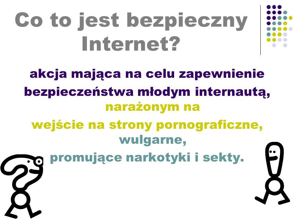 Co to jest bezpieczny Internet.