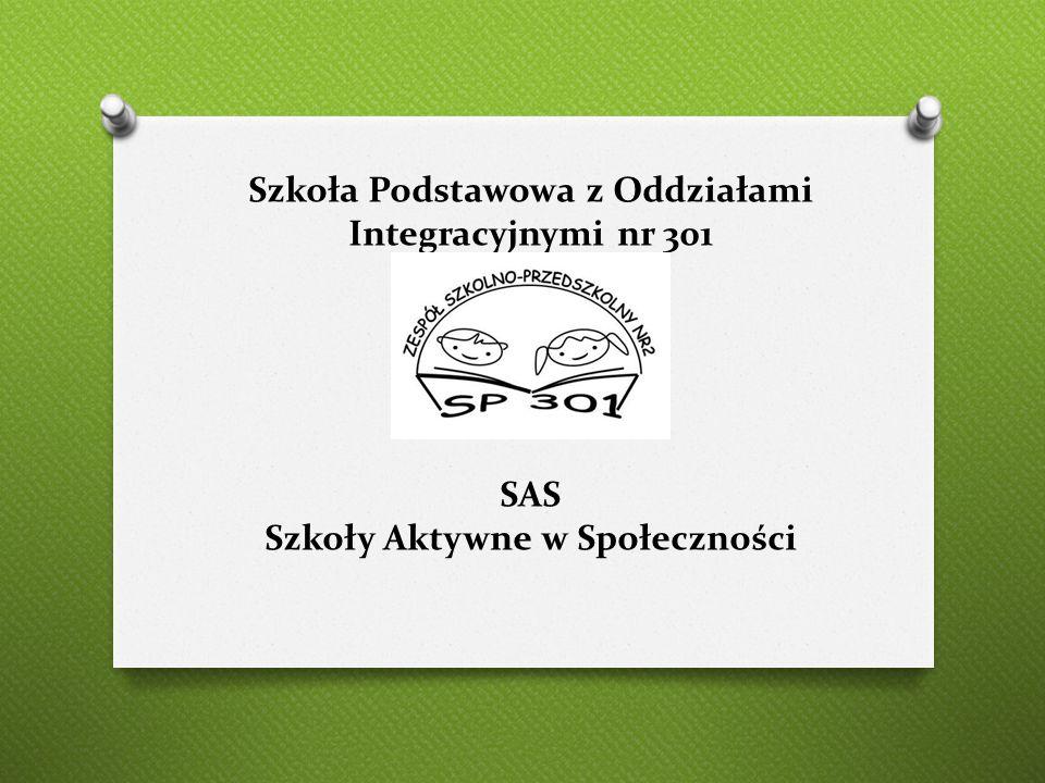 Szkoła Podstawowa z Oddziałami Integracyjnymi nr 301 SAS Szkoły Aktywne w Społeczności