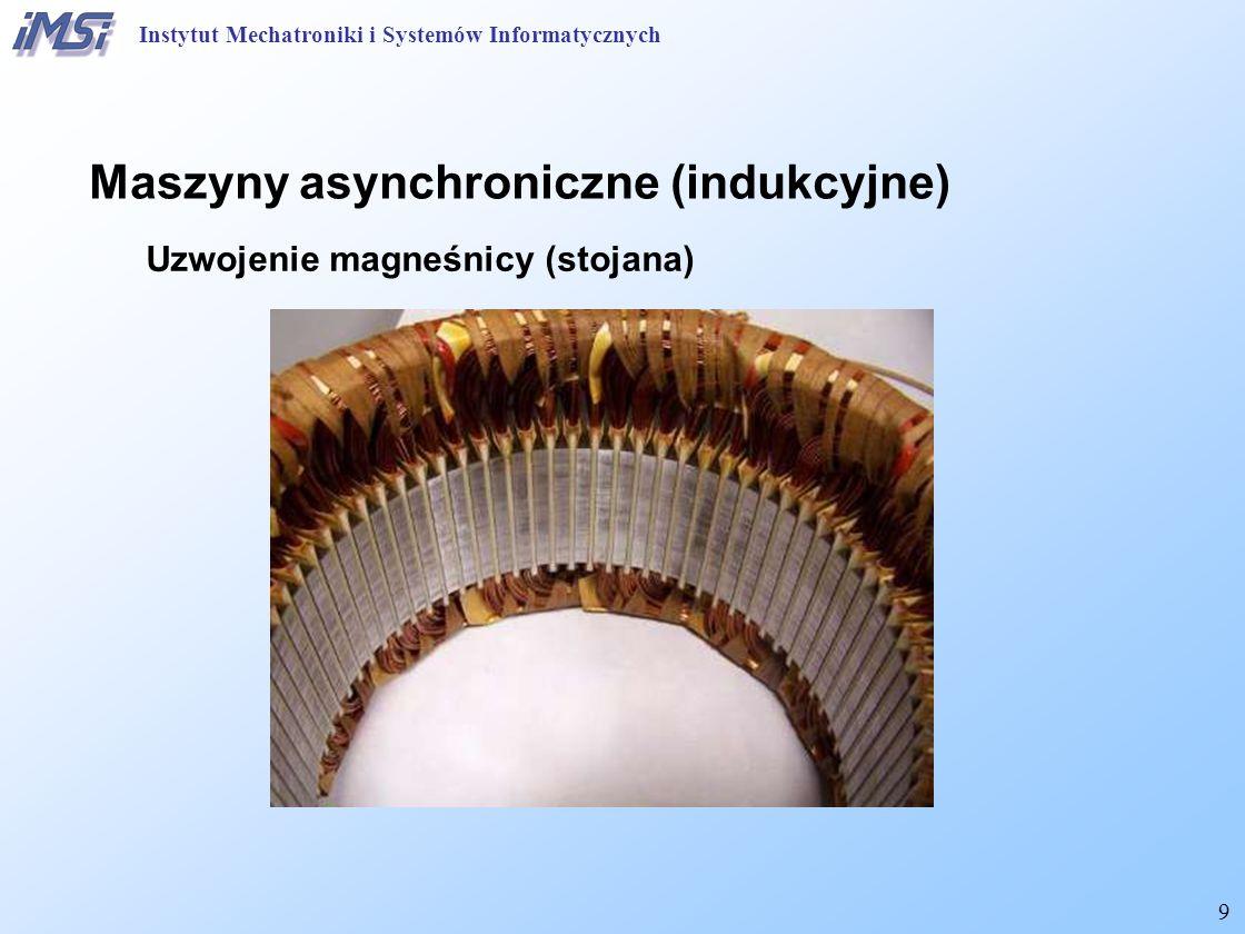 40 Maszyny asynchroniczne (indukcyjne) Starty i sprawność (wykres Sankey'a) Instytut Mechatroniki i Systemów Informatycznych