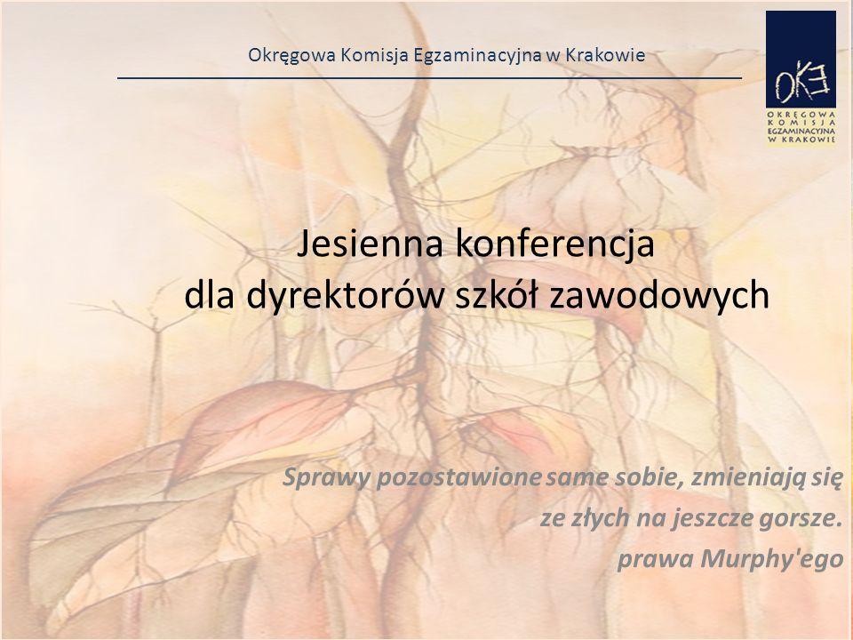 Okręgowa Komisja Egzaminacyjna w Krakowie Zgłaszanie adresów egzaminów zawodowych