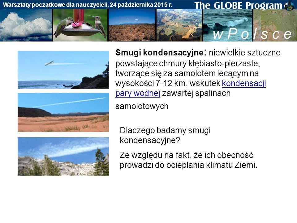 Badania gleby Warsztaty początkowe dla nauczycieli, 24 października 2015 r.