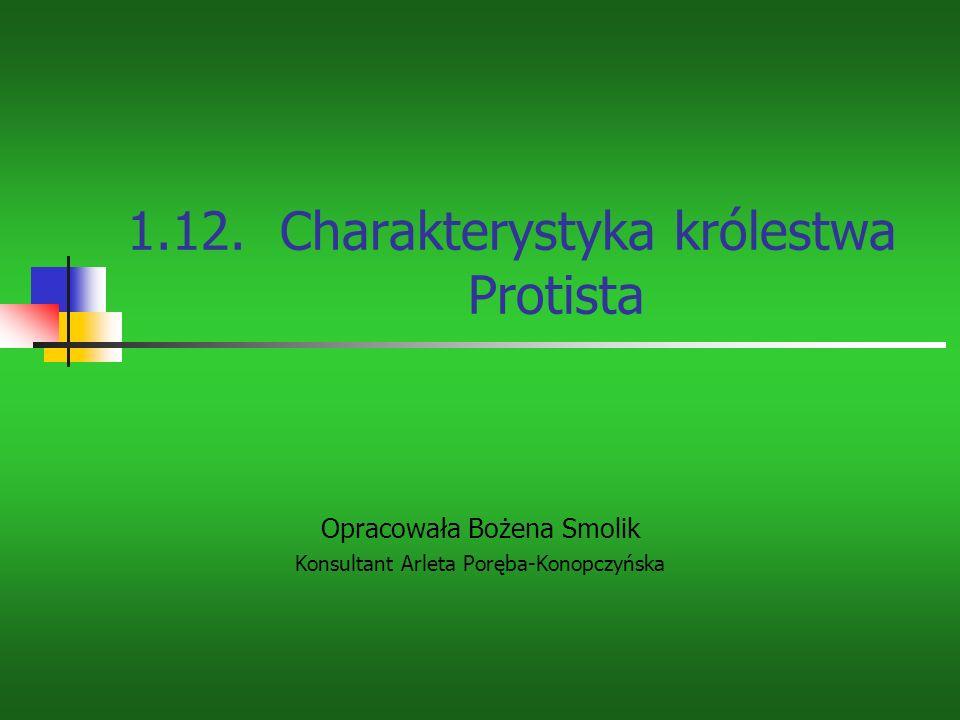 Wrażliwość Protisty jednokomórkowe są wrażliwe na czynniki środowiska, jak np.