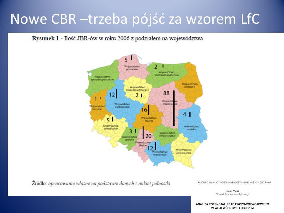 Nowe CBR –trzeba pójść za wzorem LfC 26