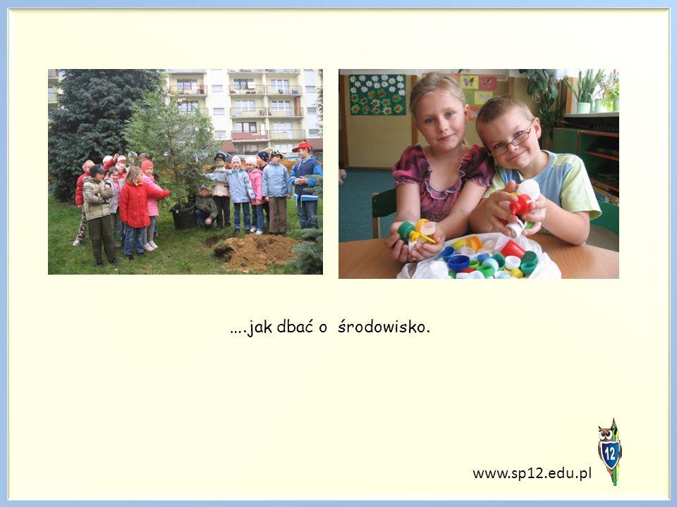 www.sp12.edu.pl …. jak dbać o środowisko.