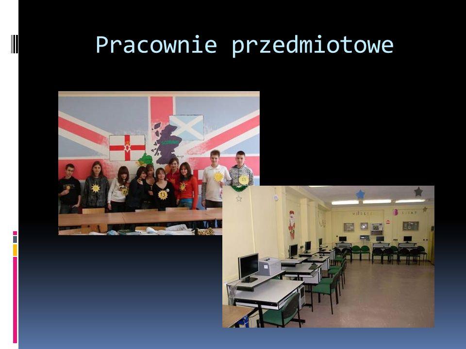 Przygotowanie do egzaminu gimnazjalnego Plan lekcji uczniów klas trzecich jest zintegrowany z pozalekcyjnymi zajęciami przygotowującymi do egzaminu gimnazjalnego: j.