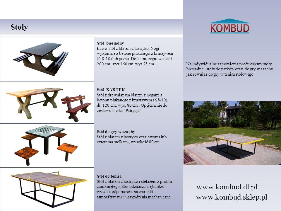 Na indywidualne zamówienia produkujemy stoły biesiadne, stoły do parków oraz do gry w szachy jak również do gry w tenisa stołowego. Stoły Stół biesiad