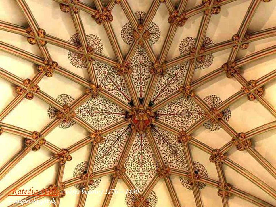Katedra Rochester – okres budowy 1179 – 1238 w stylu normandzko-gotyckim. Krypta grobowa Królów Normandzkich
