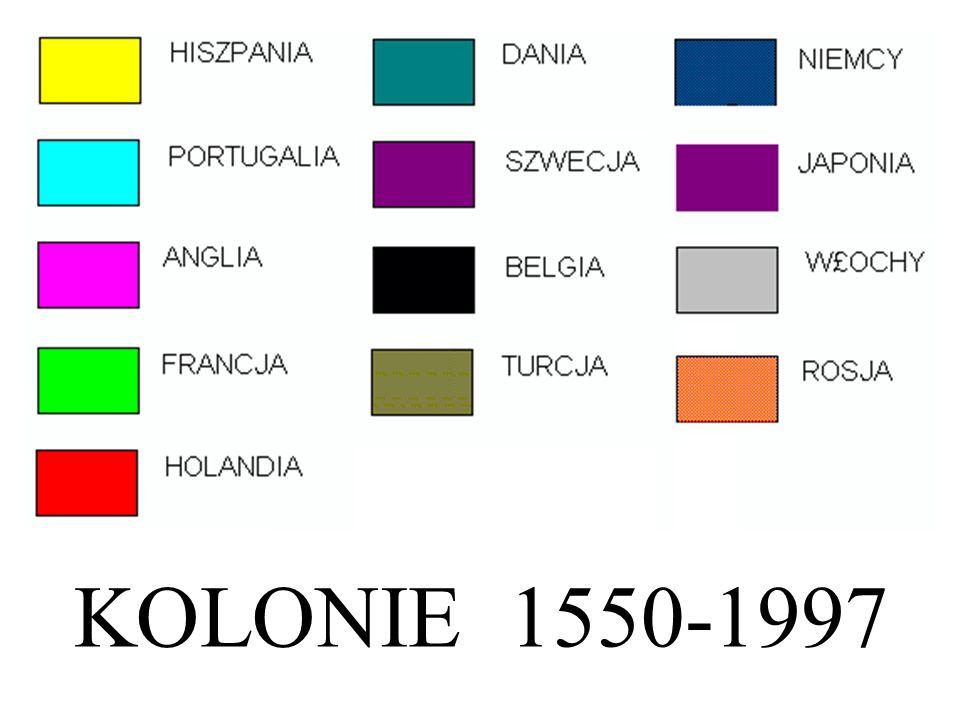 KOLONIE 1550-1997