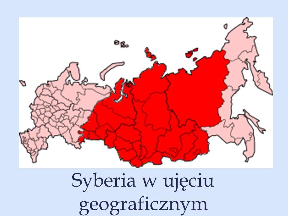 Syberia w ujęciu geograficznym