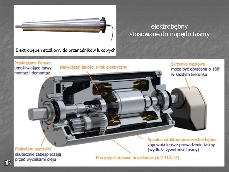 Elektrobęben stożkowy do przenośników łukowych elektrobębny stosowane do napędu taśmy
