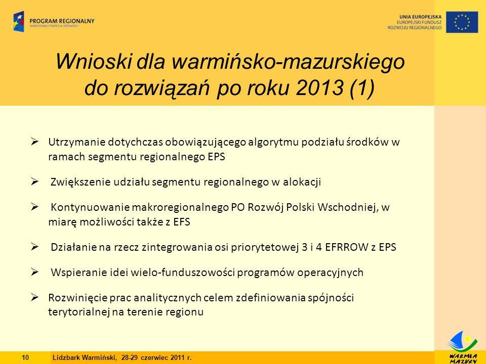 10 Lidzbark Warmiński, 28-29 czerwiec 2011 r.