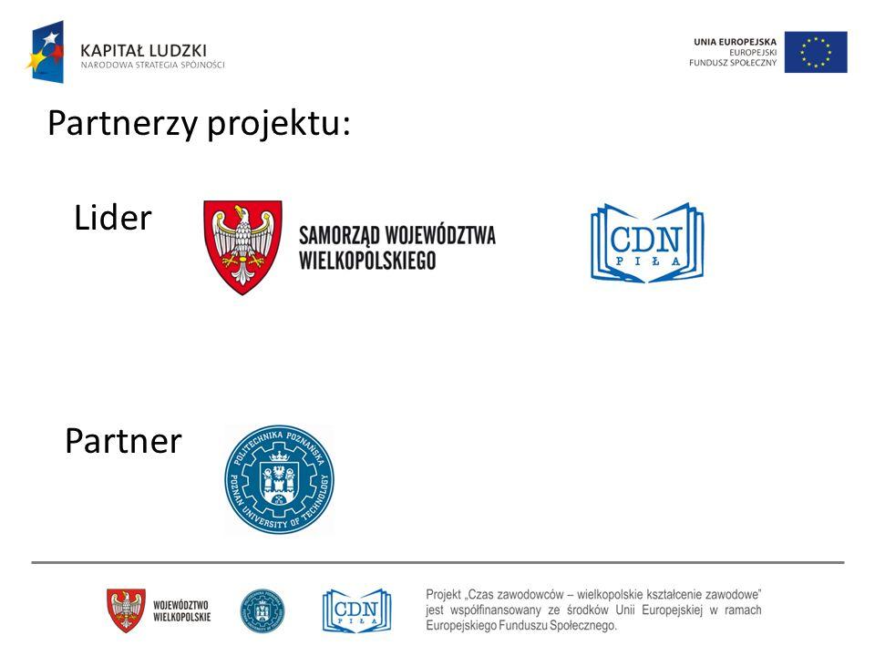 Partnerzy projektu: Lider Partner