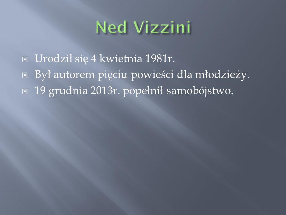  Urodził się 4 kwietnia 1981r.  Był autorem pięciu powieści dla młodzieży.