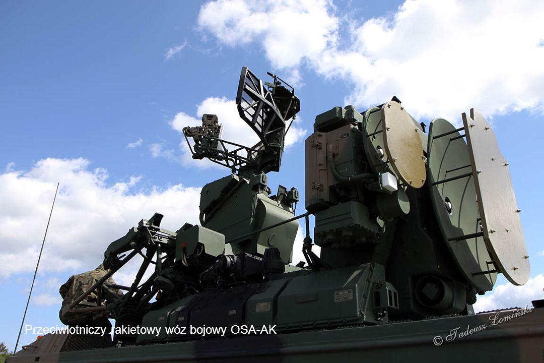 Wóz dowodzenia artyleryjskiego zestawu przeciwlotniczego BLENDA