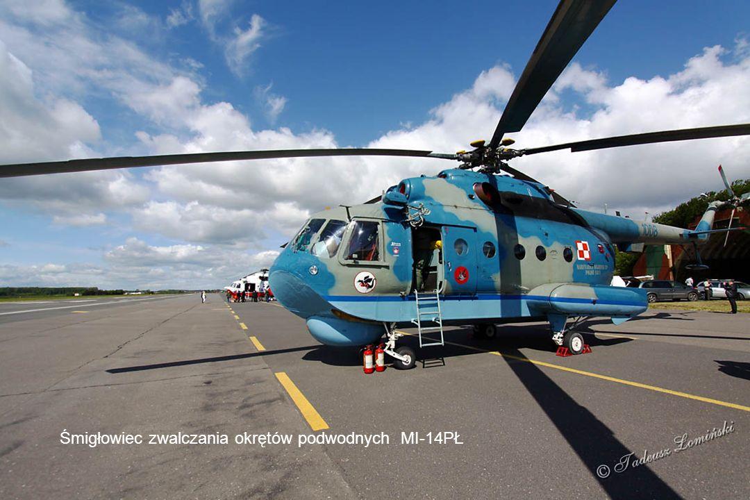 SAR (Search And Rescue) Morska Służba Poszukiwania i Ratownictwa Śmigłowiec ratowniczy Mi-14PŁ/R
