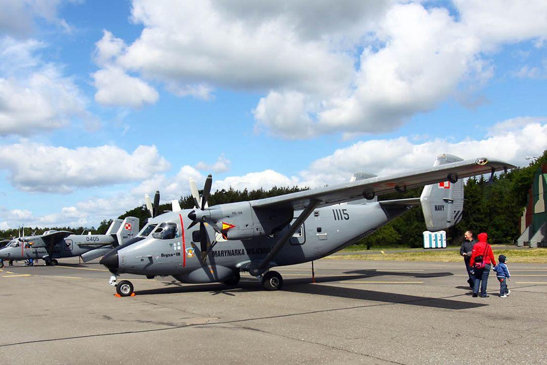 Samolot monitoringu ekologicznego An-28E Bryza 1E