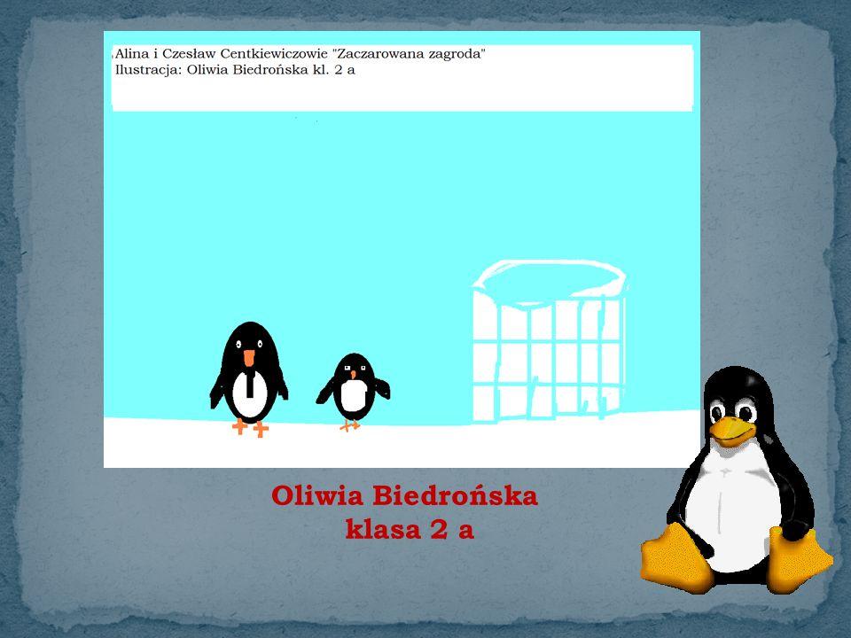 Oliwia Biedrońska klasa 2 a