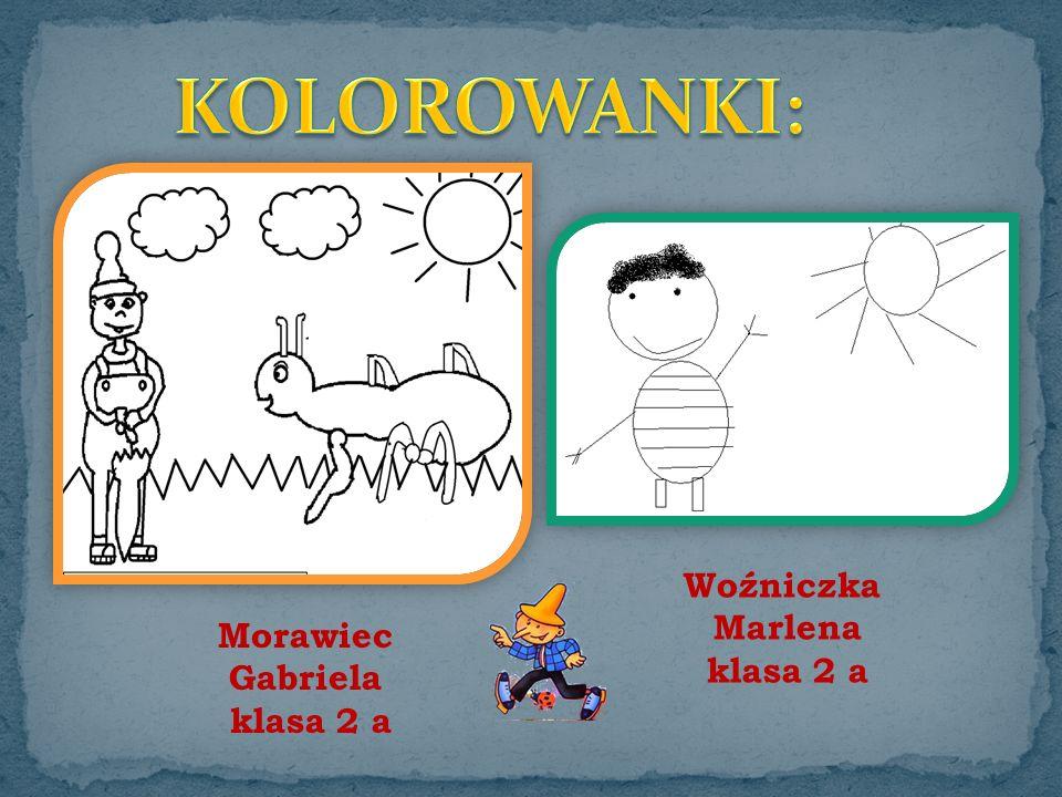Woźniczka Marlena klasa 2 a Morawiec Gabriela klasa 2 a